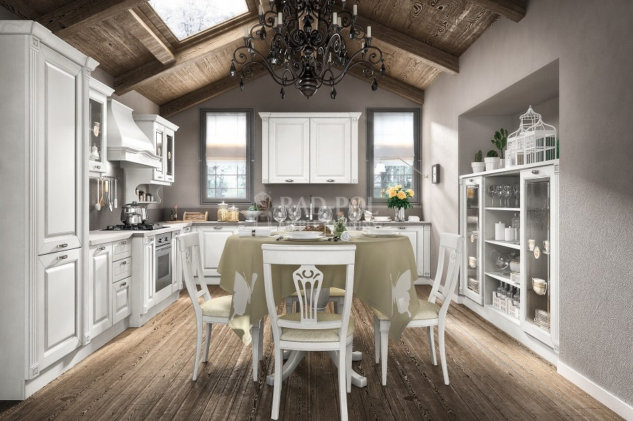 klasyczna kuchnia Regale Bianco - RAD-POL