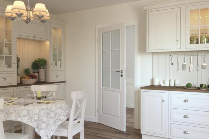 Klasyczna kuchnia zamknięta - wybierz piękne drzwi