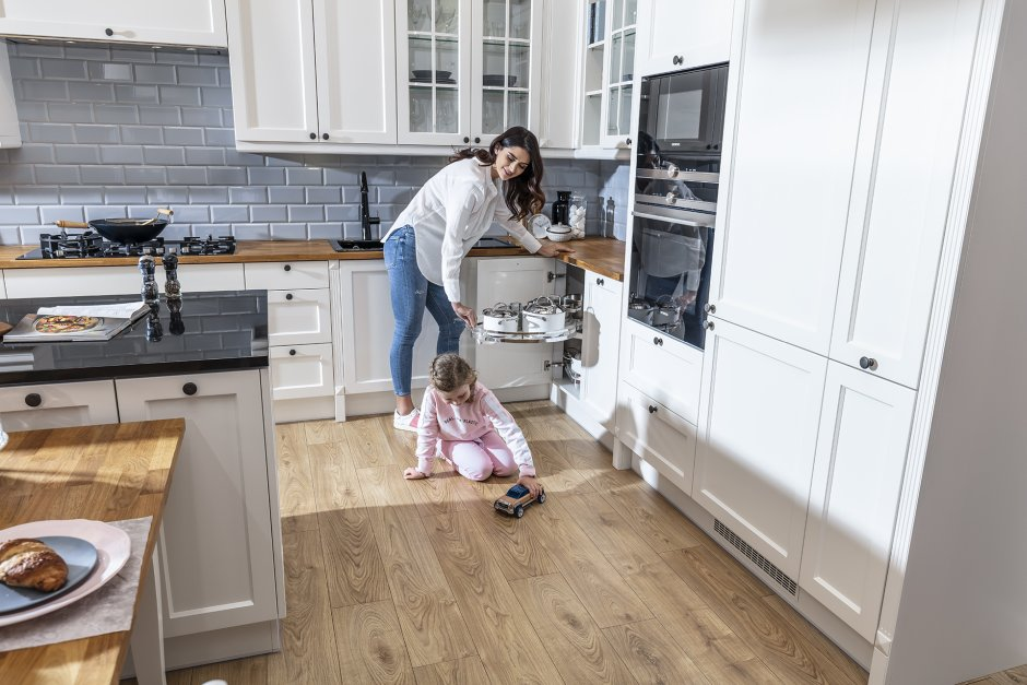 Komfortowa i czysta kuchnia