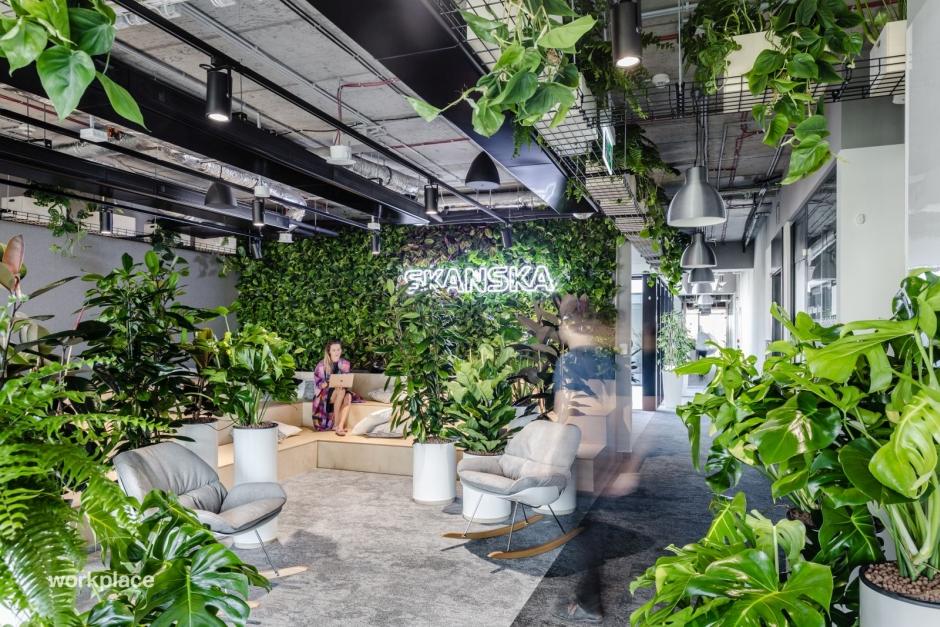 Komfortowa przestrzeń biurowa