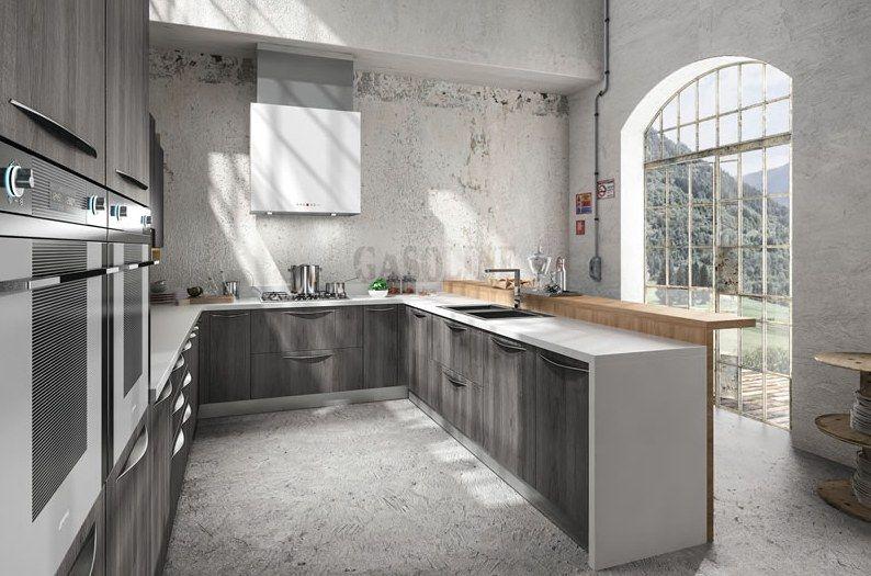 Industrialne meble kuchenne Simplicia Londra
