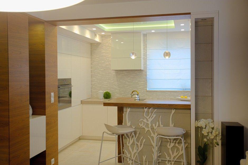 Kuchnia w bloku od projektanta