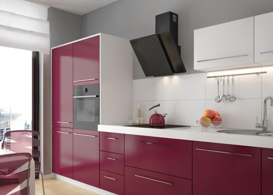 Szał kolorów w kuchni - znaczenie, wpływ na otoczenie