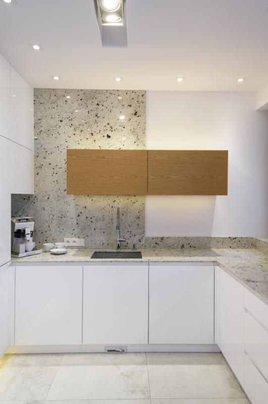 Kamień W Kuchni Piękno Natury Na ścianach I Podłogach