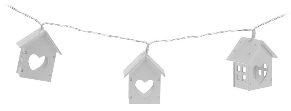 łańcuch drewniane domki