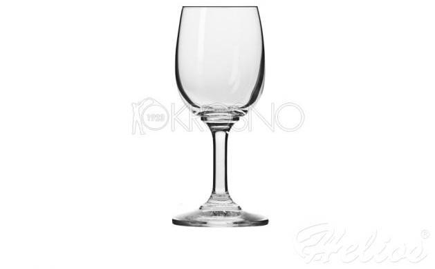 lekkie różowe wino kieliszek - Helios