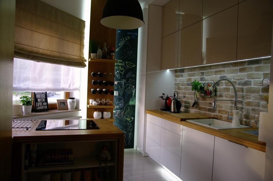 Jak Optycznie Powiekszyc Mala Kuchnie Projekty Kuchni Kuchenny