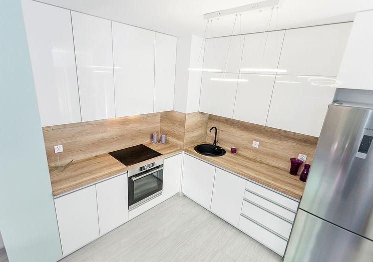 Ślepa kuchnia - otwarta przestrzeń