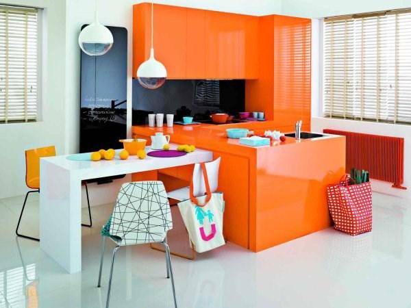 Instal-Projekt - aranżacja kuchni z lustrem