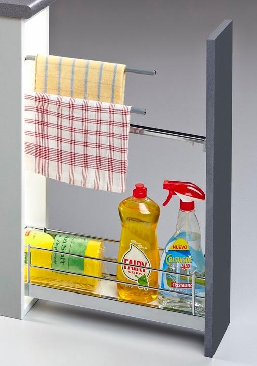Ogromnie Strefa gospodarcza w kuchni - jak przechowywać detergenty YH52