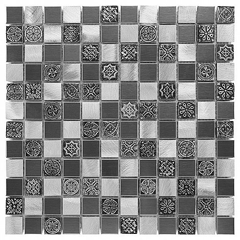 Dunin - mozaika Allumi Grey Mix 23