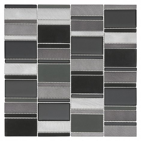 Dunin - mozaika Allumi Piano Grey 73