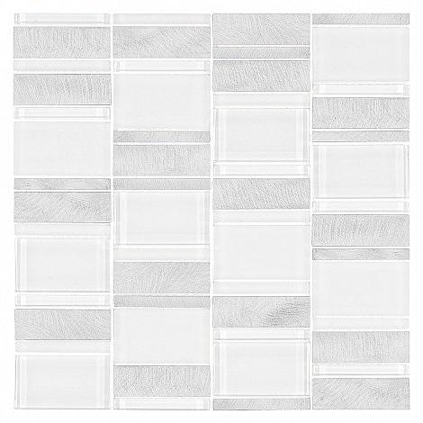Dunin - mozaika Allumi Piano White 73
