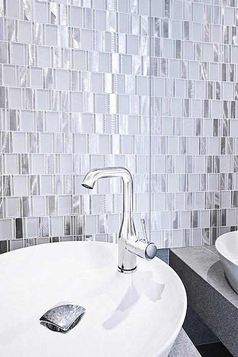 metalowa mozaika Dunin Allumi Piano White 73