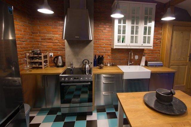 Metalowe fronty kuchenne