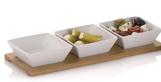 Talerze i półmiski na sałatkę - propozycję