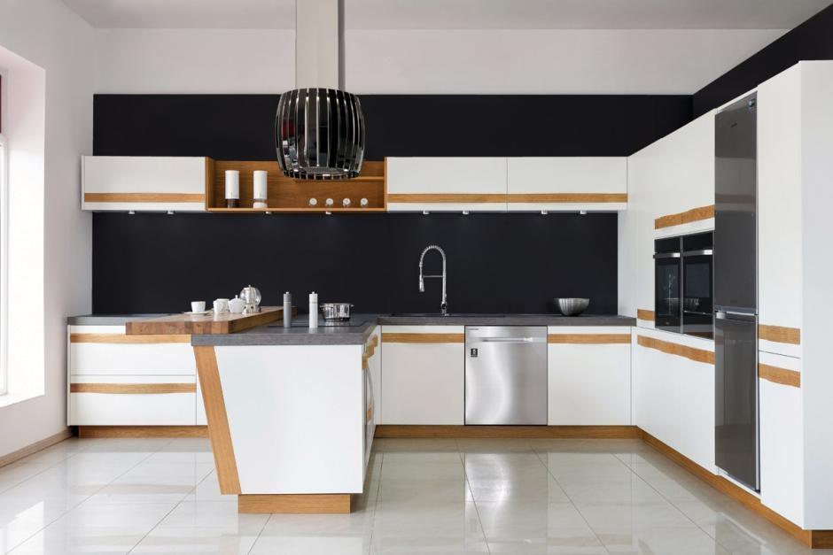 10 stylowych propozycji na meble kuchenne - dwa kolory