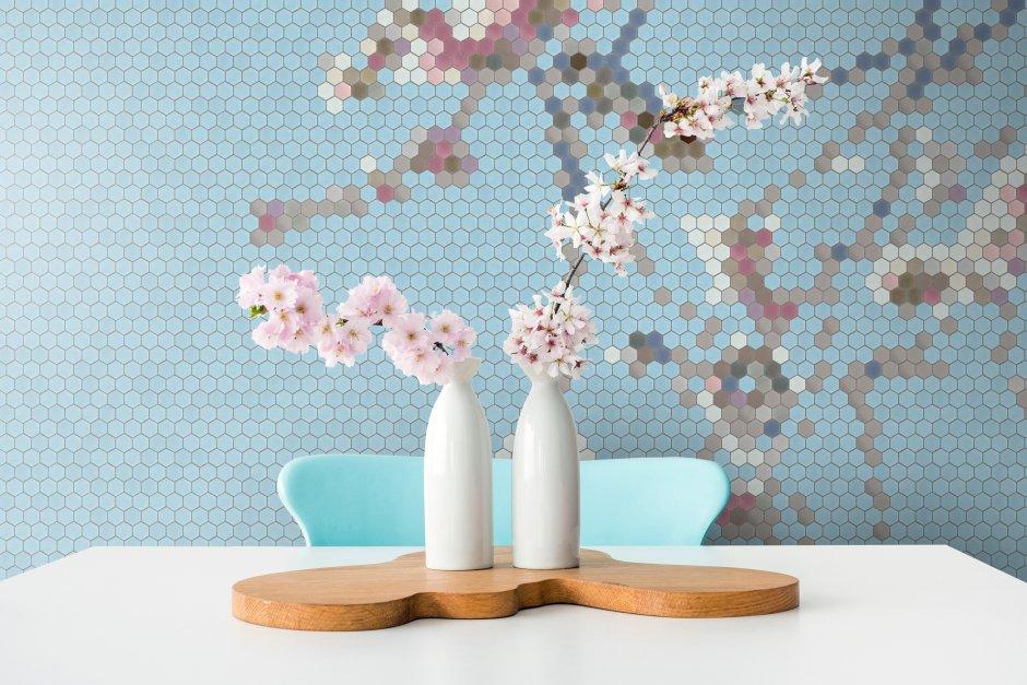 Mozaika kwiaty