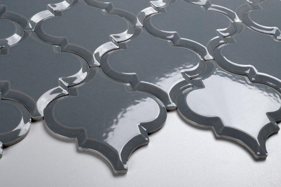 mozaika Carska Arabeska - szara, połysk