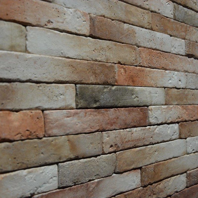 Płytki w stylu starej cegły