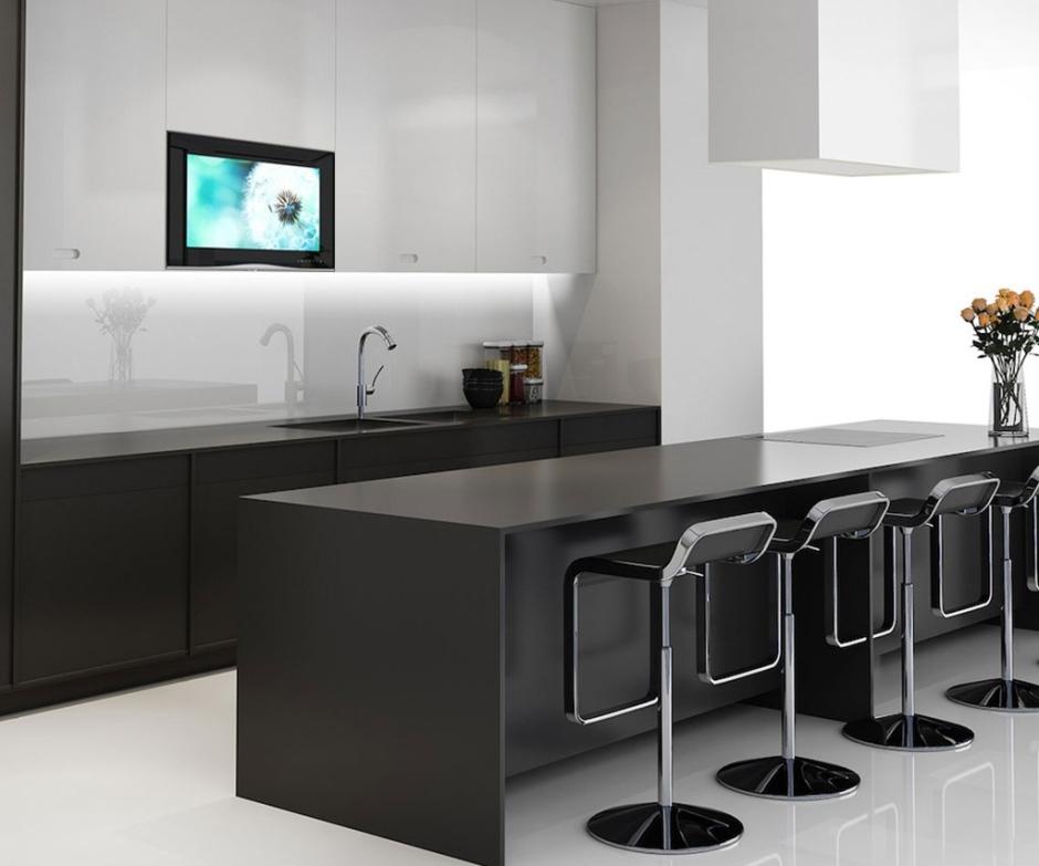 Telewizor w kuchni - nowoczesne rozwiązania