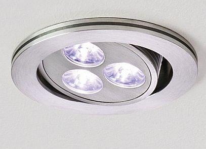 Nowoczesne oświetlenie kuchni - oprawy oczka do sufitu podwieszanego