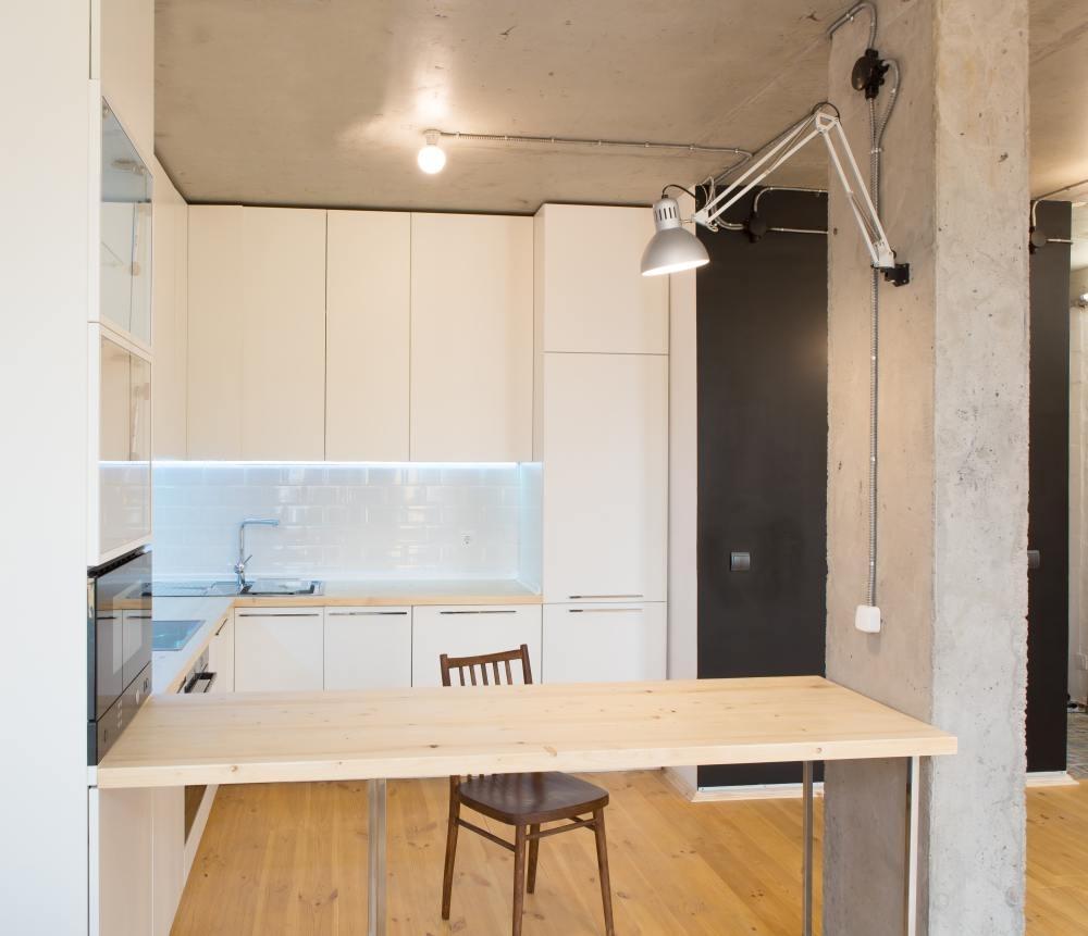 Meble w małej kuchni - dobór kolorów