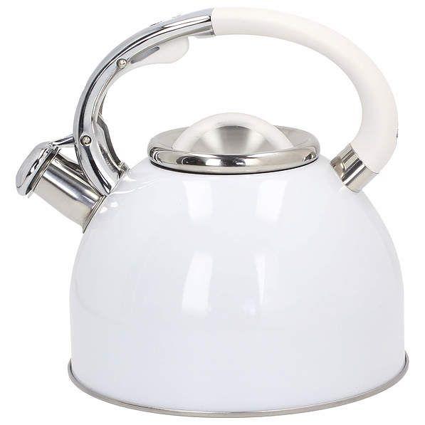 Modny kolor czajnika - biały