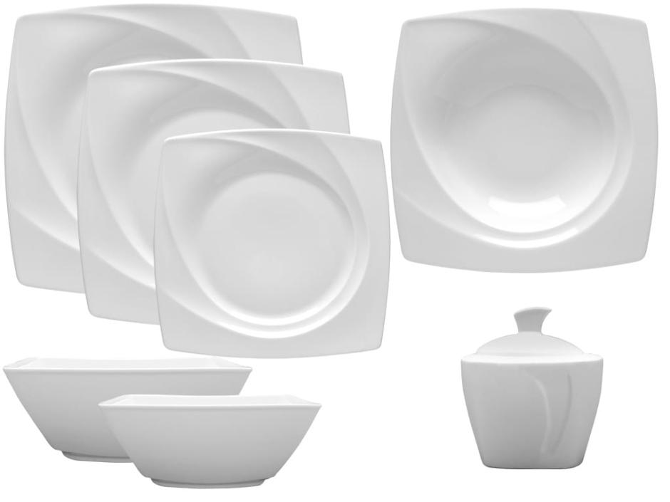 Porcelana Lubiana - zestaw obiadowy