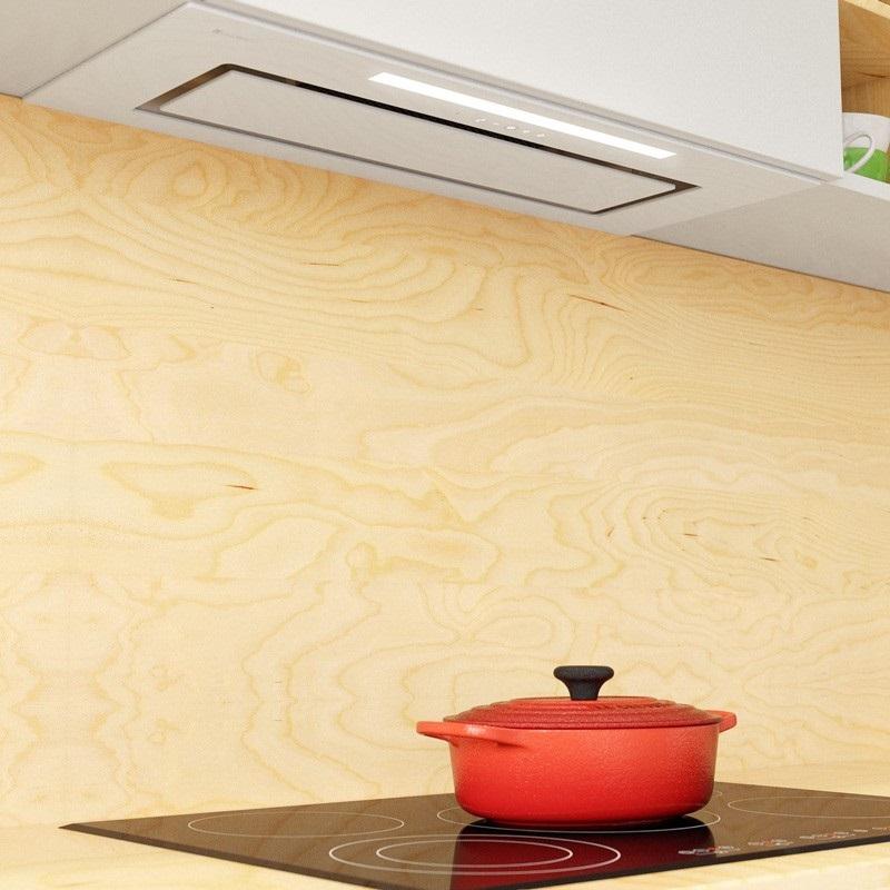 Ślepa kuchnia bez okna - wentylacja, oświetlenie, projekty - okap Globalo