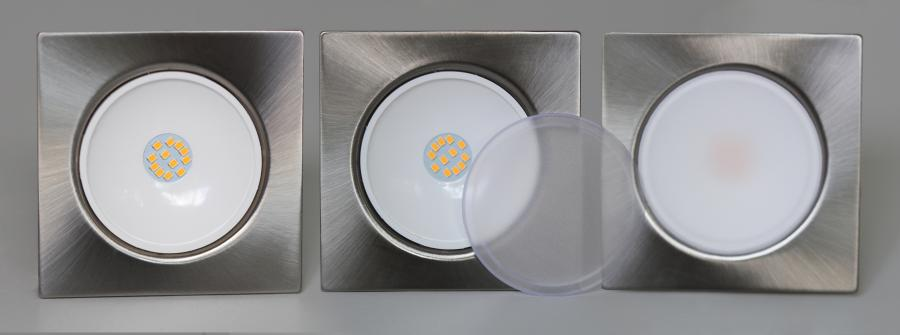 oprawka LED LEDOM kwadratowa