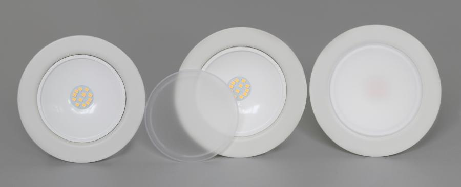 oprawka LED LEDOM okrągła
