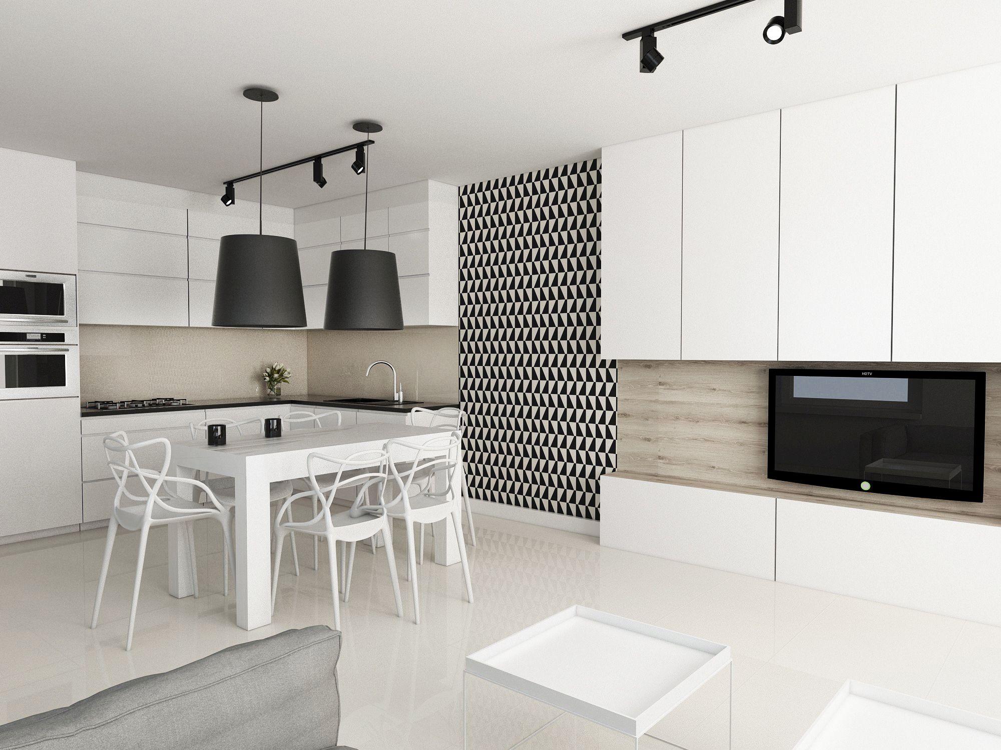 Tapeta W Kuchni ściany I Podłogi Kuchennycompl