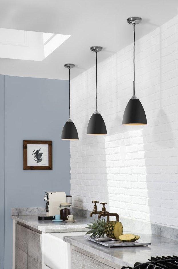 Oświetlenie nad blatem roboczym w kuchni