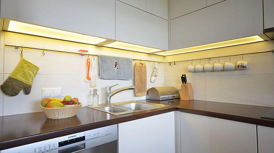 Oswietlenie led w kuchni