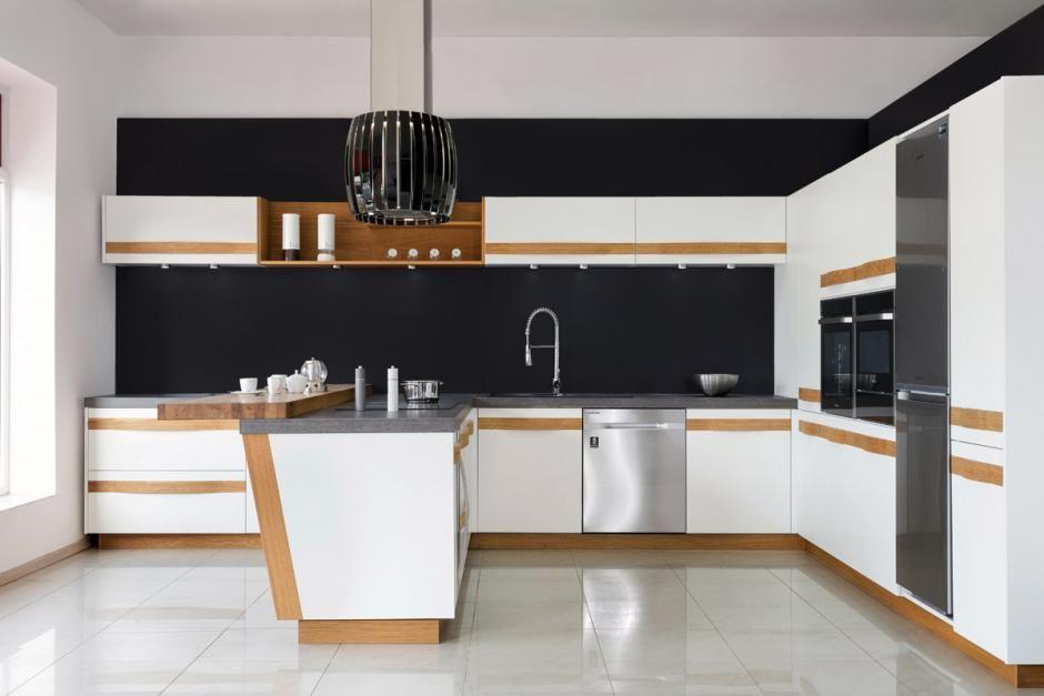 Otwarte półki w zabudowie kuchennej  nowy trend  meble kuchenne  Kuchenny