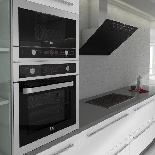 Bardzo dobryFantastyczny Piekarnik w wysokiej zabudowie - aranżacje - projekty kuchni QX54