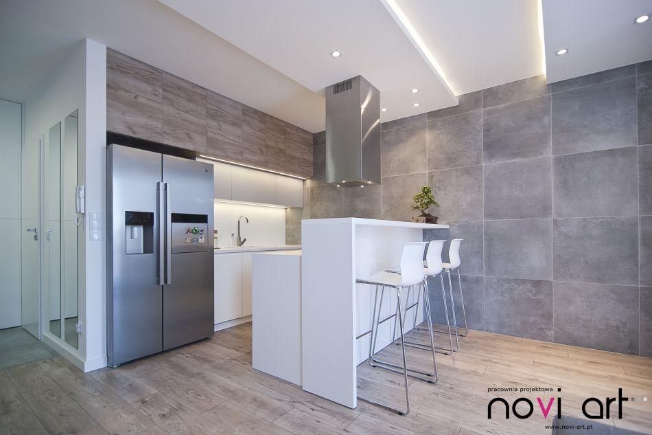 Beton W Kuchni ściany I Podłogi Kuchennycompl