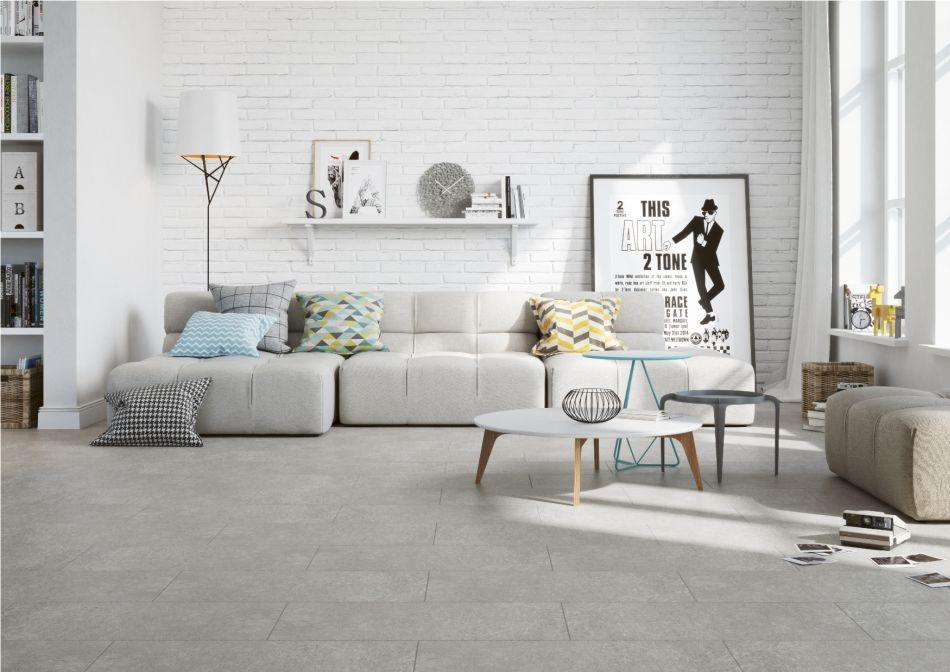 Płytki 2018 - kolekcje imitujące beton