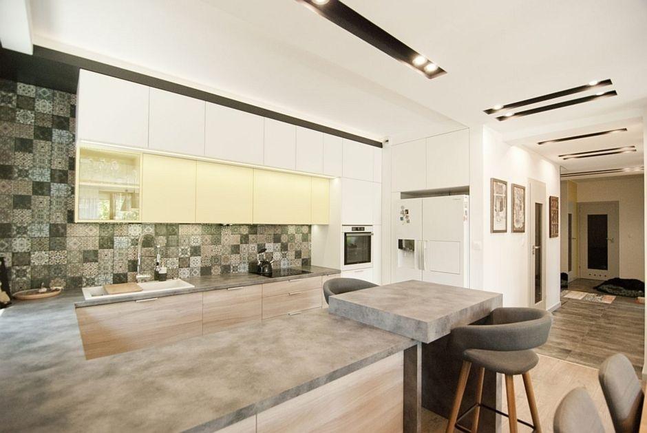 p�ytki patchwork w kuchni ściany i pod�ogi kuchennycompl