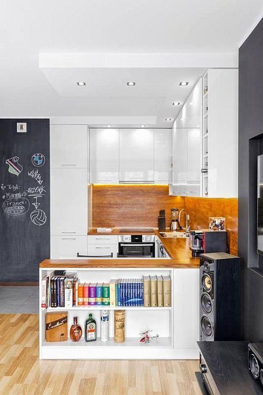 Otwarte półki w zabudowie kuchennej  nowy trend  meble