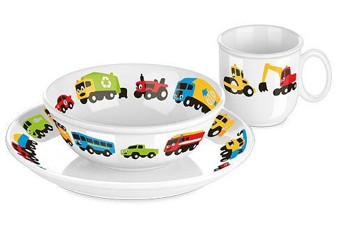 Porcelana dziecięca - samochody