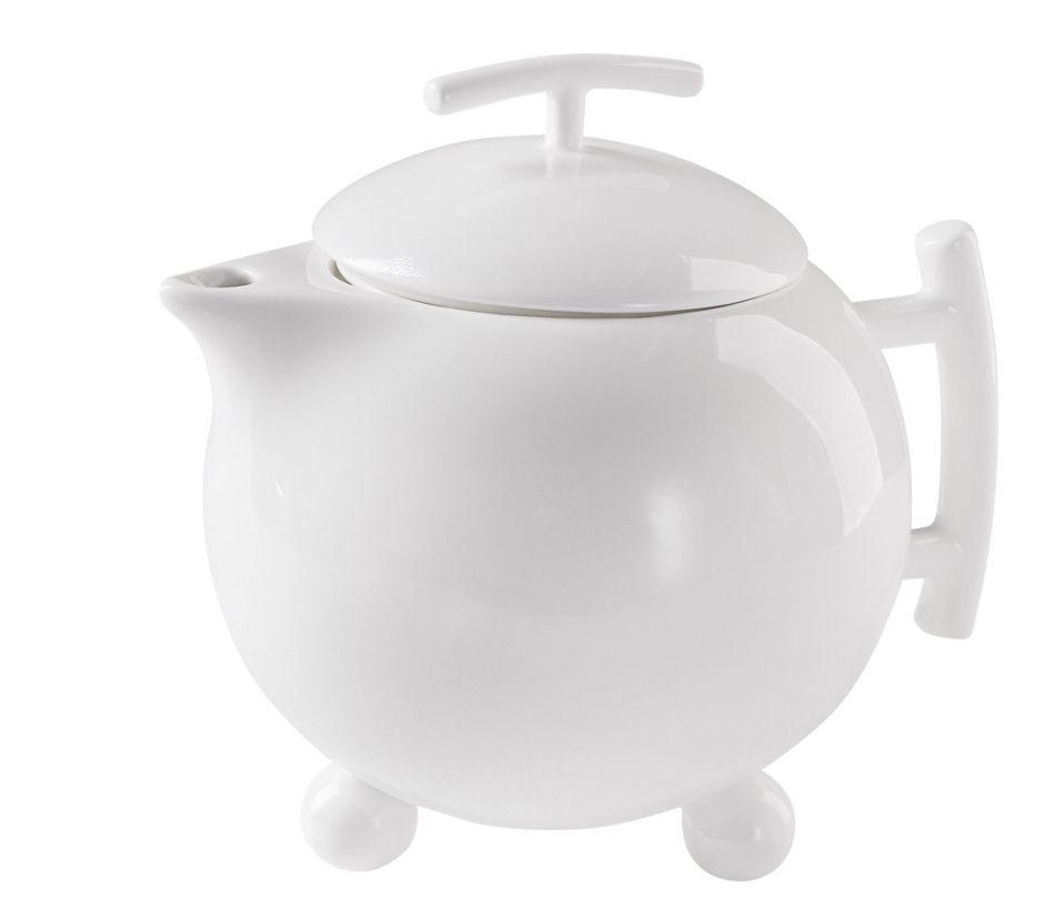 Porcelanowy czajnik z filtrem wody