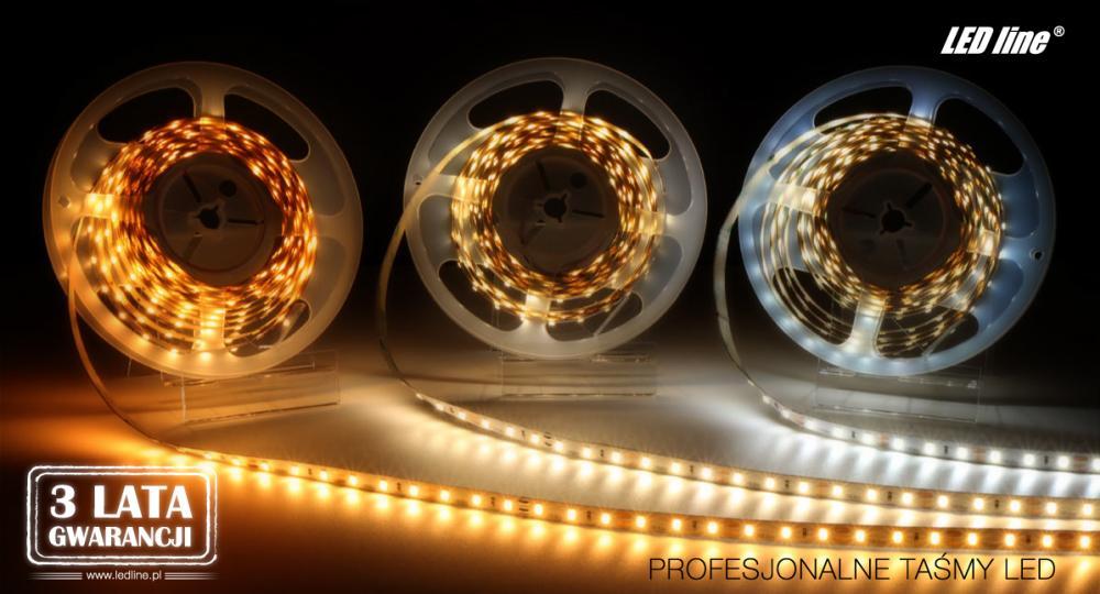profesjonalne taśmy LED line