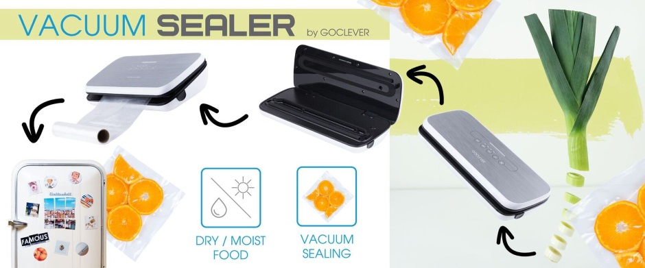 próżniowa zgrzewarka Goclever Vacuum Sealer
