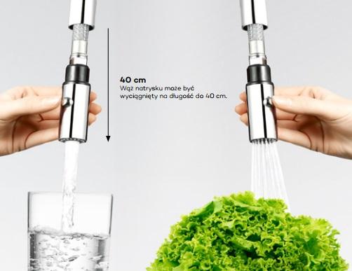 Kludi - przełącznik strumień/natrysk