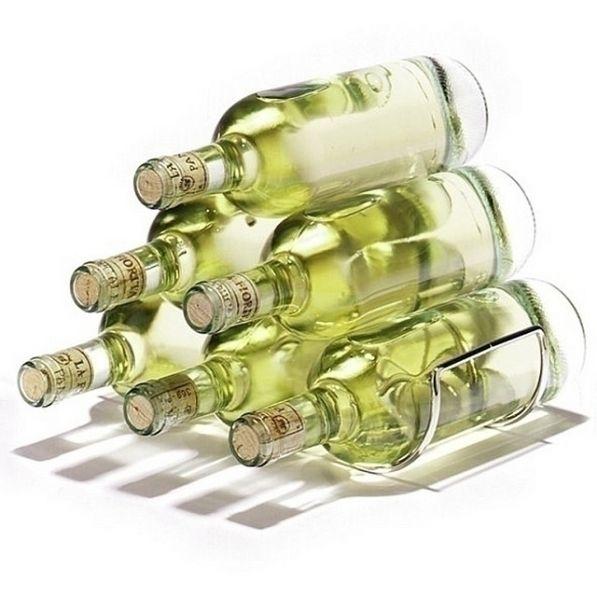 Stojak na wino - nowoczesny, designerski