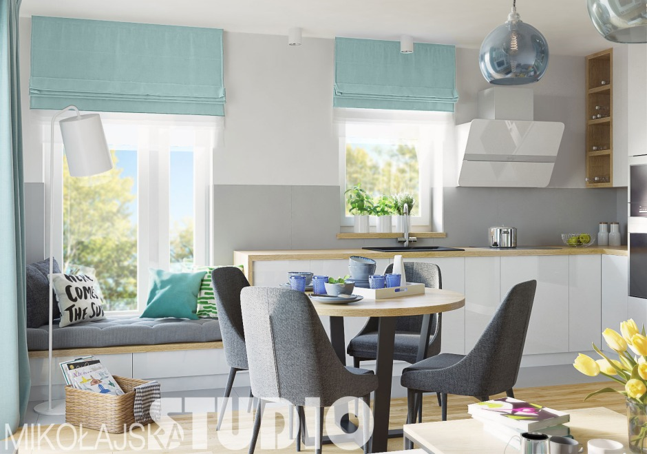 Siedzisko w kuchni - sposób na wyjątkową zabudowę