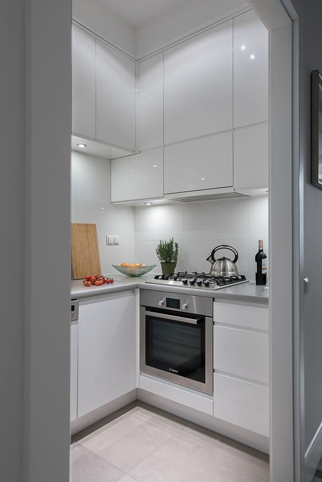 Ślepa kuchnia bez okna - wentylacja, oświetlenie, projekty