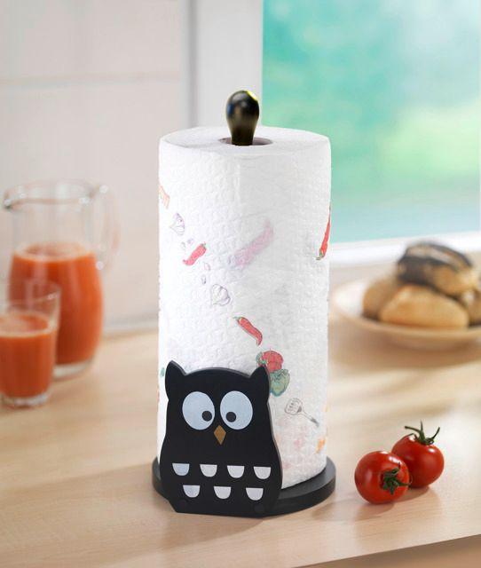 Uroczy stojak na papierowy ręcznik kuchenny